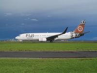 DQ-FJH @ NZAA - On taxyway - by magnaman