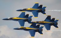 162437 @ LAL - Blue Angels - by Florida Metal