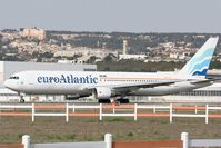 CS-TLO @ LFML - Boeing 767-383ER, Holding point rwy 31R, Marseille-Provence Airport (LFML-MRS) - by Yves-Q