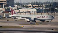 A7-BBG @ MIA - Qatar 777-200LR - by Florida Metal