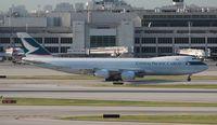 B-LJB @ MIA - Cathay Cargo