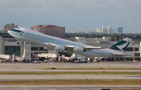 B-LJC @ MIA - Cathay Cargo 747-800