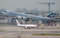 B-LJJ @ MIA - Cathay Cargo