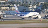 CC-BBD @ MIA - LAN 787-8 - by Florida Metal
