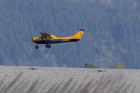 C-FTUG @ CYPK - Landing after pulling a glider up - by Guy Pambrun
