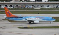 C-FTZD @ FLL - Sun Wing - by Florida Metal