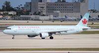 C-GIUF @ MIA - Air Canada