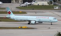 C-GJWD @ FLL - Air Canada - by Florida Metal
