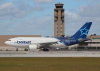 C-GLAT @ FLL - Air Transat