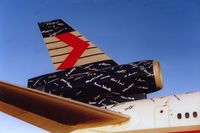 C-FCRD @ YVR - close up of tail. 1993 - by metricbolt