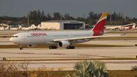 EC-LZX @ MIA - Iberia