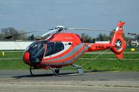 D-HUAE @ EBAW - Eurocopter EC-120B helicopter parked at Antwerpen Deurne airport, Belgium - by Van Propeller