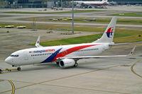 9M-MXG @ WMKK - Boeing 737-8H6 [40134] (Malaysia Airlines) Kuala Lumpur-International (Sepang)~9M 17/02/2013 - by Ray Barber