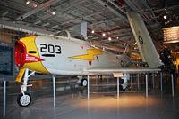 135868 - This Fury has received new markings, on display at the refurbished U.S.S. Intrepid Air-Sea-Space Museum. - by Daniel L. Berek