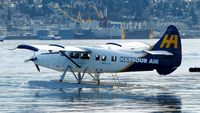 C-FITF @ CYHC - Harbour Air #303 taxiing for takeoff in Coal Harbour. - by M.L. Jacobs