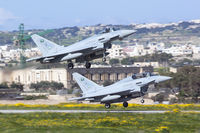 1010 @ LMML - 1010 & 1012 departing runway 05 at Luqa - by Nicolai Schembri