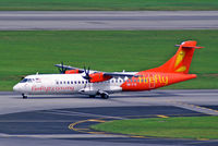 9M-FYE @ WSSS - Aerospatiale ATR-72-212A [840] (Firefly) Singapore-Changi~9V 20/02/2013 - by Ray Barber