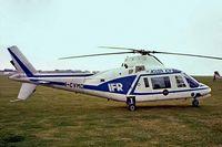 I-CVMD @ EGTC - Agusta A.109A [7107] (Agusta SpA) Cranfield~G 08/09/1979. From a slide