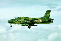 I-AMKK @ EGLF - Aermacchi MB-326K [6477] (Aermacchi) Farnborough~G 08/09/1974. From a slide.