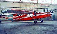OE-BBL @ LOWW - Pilatus PC-6/B2-H2 Turbo Porter [664] Vienna-Schwechat~OE 20/06/1996