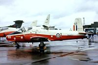 XW413 @ EGVI - BAC Jet Provost T.5A [EEP/JP/1035] (Royal Air Force) RAF Mildenhall~G 23/05/1981. From a slide.
