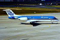 PH-KZB @ EDDT - Fokker F-70 [11562] (KLM cityhopper) Berlin-Tegel~D 18/05/1998