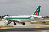 EI-IML @ LMML - A319 EI-IML Alitalia - by Raymond Zammit