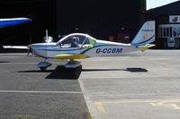 G-CCBM @ EGCB - City Airport Manchester - by Guitarist