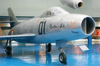 01 @ LFPB - Dassault Mystere IVA, Air & Space Museum Paris-Le Bourget (LFPB-LBG) - by Yves-Q
