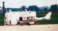 N627J @ KICL - Fuel Stop - by Floyd Taber