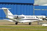 D-IVVB @ EGGW - 2007 Cessna 525A CitationJet CJ2+, c/n: 525A0357 at Luton - by Terry Fletcher