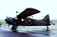 XP772 @ EGVP - De Havilland Canada DHC-2 Beaver AL.1 [1442] (Army Air Corps) AAC Middle Wallop~G 08/06/1977. From a slide.