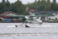 C-FIDG @ CSU7 - Lac à la Tortue Seaplane base Québec - by Jean-Luc Poliquin