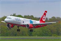 D-ABNB @ EDDR - Airbus A320-214, - by Jerzy Maciaszek