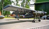 XL703 @ EGWC - Scottish Aviation Pioneer CC.1 [143] RAF Cosford~G 09/06/1996