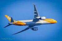 9V-OJA - Flying near Kent WA - by Michael Kinney