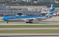 LV-CSD @ MIA - Aerolineas Argentinas