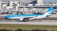 LV-FNK @ MIA - Aerolineas Argentinas