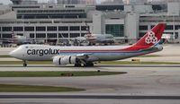 LX-VCG @ MIA - Cargolux