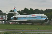 F-GCVJ @ LFRN - Aerospatiale SE-210 Caravelle 12, preserved at Rennes St Jacques airport (LFRN-RNS) - by Yves-Q