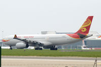 B-6527 @ EBBR - Hainan Airlines Airbus A330-300 taking off from Brussels Zaventem airport, Belgium. - by Van Propeller
