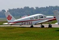 CF-TSZ @ CYOO - Piper PA-28-180 Cherokee E [28-5750] (Canadian Flight Academy) Oshawa~C 25/06/2005. Marked C-FTSZ. - by Ray Barber
