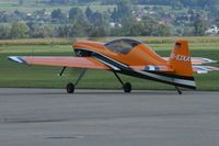 D-EJXA @ LSZG - a sexy plane taxiing for take-off - by sparrow9