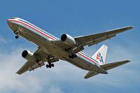 N358AA @ EGLL - Boeing 767-323ER [24039] (American Airlines) Home~G 16/07/2014. On approach 27R.