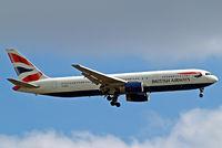 G-BNWC @ EGLL - Boeing 767-336ER [24335] (British Airways) Home~G 15/07/2014. On approach 27L.