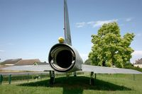 214 - Dassault Mirage IIIB (2-FR), turbojet nozzle, preserved by Association des Avions Anciens at Avord - by Yves-Q