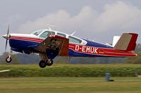 D-EMUK @ EDMT - Beech V35B Bonanza [D-9986] Tannheim~D 24/08/2013