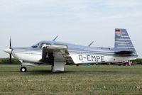 D-EMPE @ EDMT - Mooney M.20J Model 205 [24-3186] Tannheim~D 24/08/2013