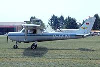 D-EEVQ @ EDMT - R/Cessna F.152 [1655] Tannheim~D 23/08/2013 - by Ray Barber