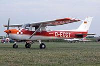 D-ECGT @ EDMT - R/Cessna FRA.150M Aerobat [0262] Tannheim~D 24/08/2013 - by Ray Barber